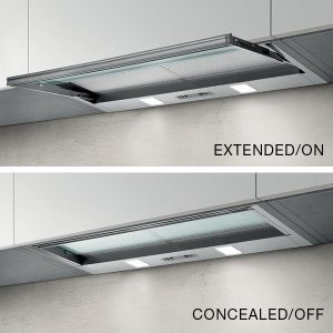 Concealed Slide out rangehood